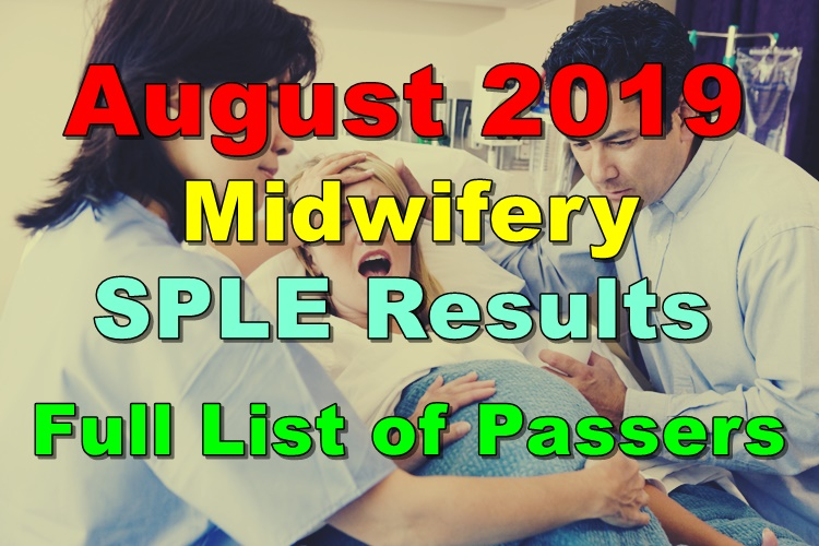 Midwifery Board Exam Result