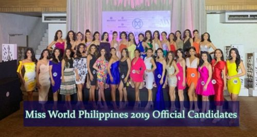 miss world philippines 2019 official candidates