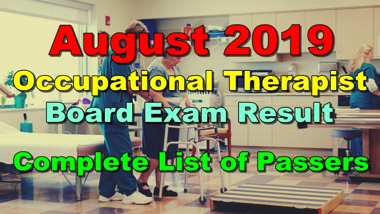 Occupational Therapist Board Exam