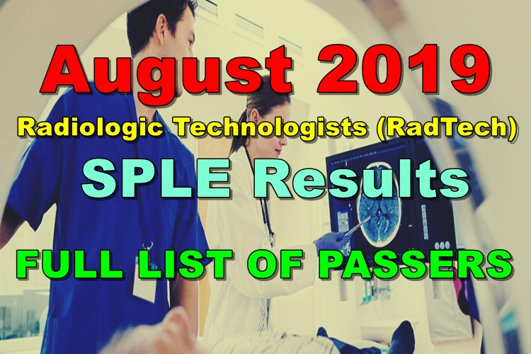 Radiologic Technologists Board Exam