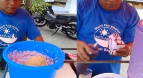 Nostalgic Video of Ice Scramble Vendor Goes Viral Online