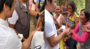 Manny Pacquiao Gives 'Balato' To Residents of Sarangani