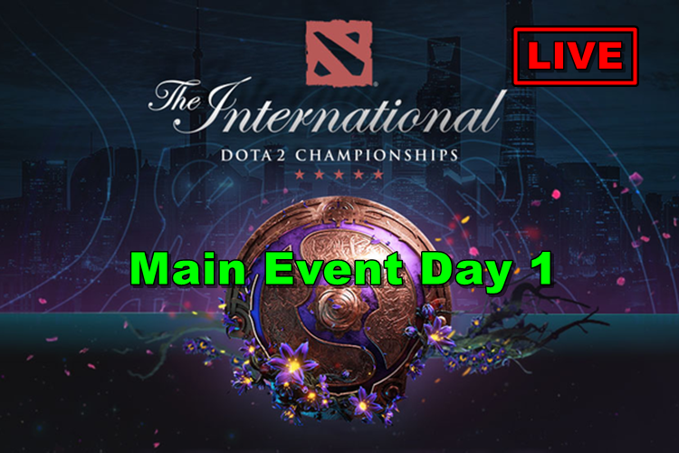 DOTA 2 TI9 Main Event