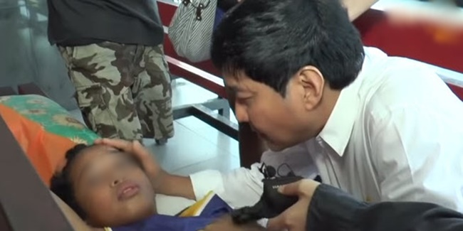 Hospital young boy. Raffy tulfo