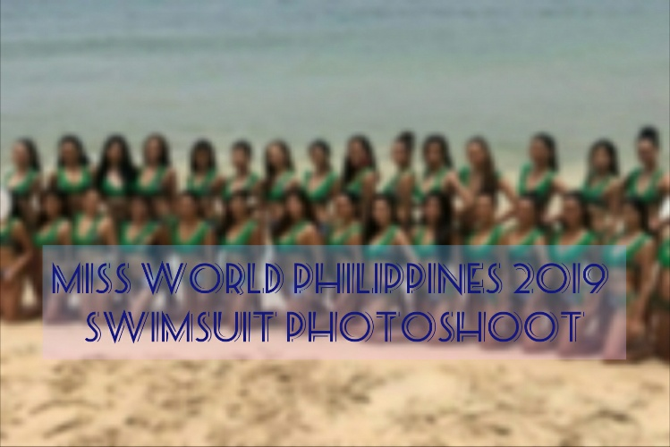Miss World Philippines 2019 swimsuit photoshoot