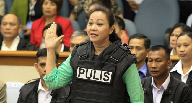 Janet Napoles On GCTA List According To Documents