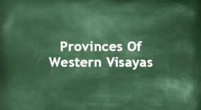 Provinces Of Western Visayas | Regions Of The Philippines