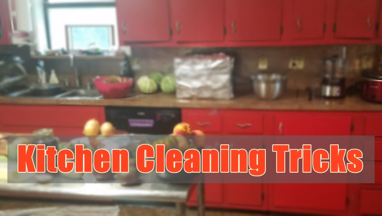 kitchen cleaning tricks