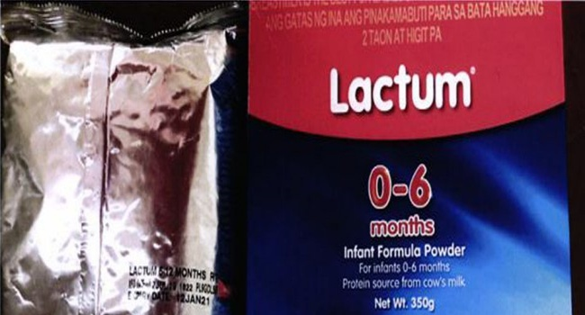 Lactum Infant Formula Recalled For Product Mislabeling