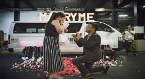 Man Proposes To Girlfriend In Terminal Where They Met After A Long Time