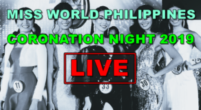 Miss World Philippines 2019 – Coronation Night (LIVE STREAMING)