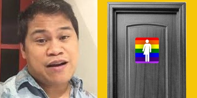 ogie diaz restroom issue