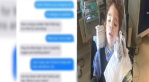 Wrong Sent Text Message Results To Act of Kindness for Sick Kid Confined in ICU