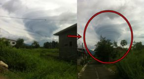 Unusual Cloud Formation Spotted in Mt. Banahaw
