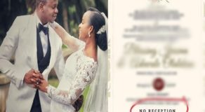 Practical Couple Goes Viral For Having No Reception After Wedding