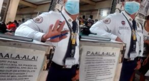 Intense Confrontation Between Hospital Guard & Patient Guardian (Video)