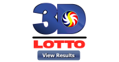 3D LOTTO RESULT August 6, 2020