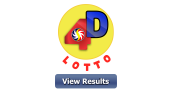 4D LOTTO RESULT August 14, 2020