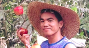 PHOTO: Agriculture Student In Davao Del Sur Successfully Plants Apple Tree
