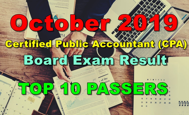 CPA Board Exam Result