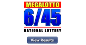 6/45 LOTTO RESULT Today, Wednesday, October 21, 2020