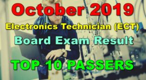 Electronics Technician Board Exam Result October 2019 – Top 10 Passers