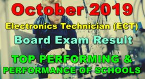 ECT Board Exam Result October 2019 – Top Performing & Performance of Schools