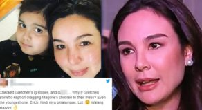 Gretchen Barretto Drags Marjorie's Youngest In Issue, Greta Lambasted Online
