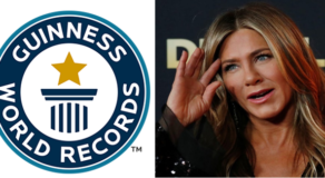 Jennifer Aniston's IG Account Sets New Guinness World Record