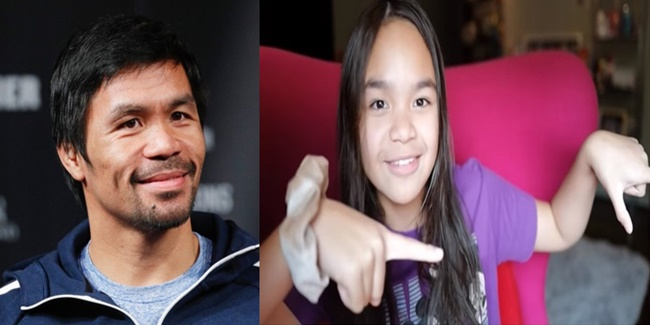 Manny Pacquiao daughter mary tour