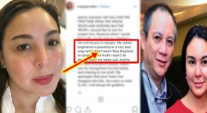 "Marjorie Barretto Not Referring To Tony Boy As Gretchen's ""Boyfriend"" in Post?"