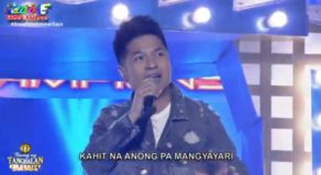 Tawag Ng Tanghalan October 15 – RJ Dela Fuente Is Today's Winner