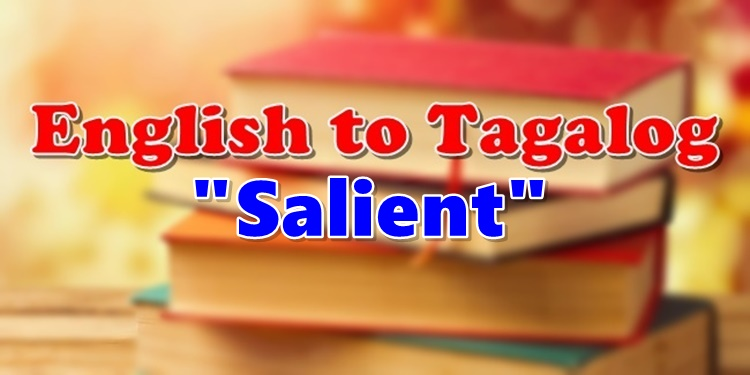 Translate English To Tagalog Salient