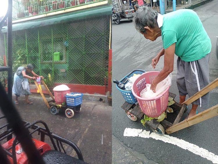 Elderly Vendor