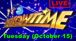 It's Showtime – October 15, 2019 Episode (LIVE STREAM)