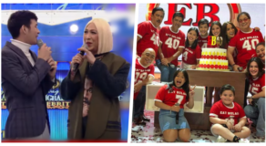 Vice Ganda Praises Eat Bulaga Segments Live On It's Showtime