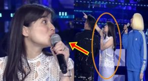Anne Curtis Hears Something Strange While Showtime Airs Live