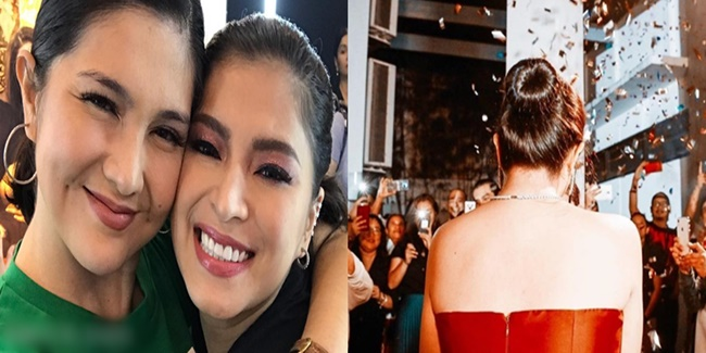 Dimples Romana thanks Angel Locsin
