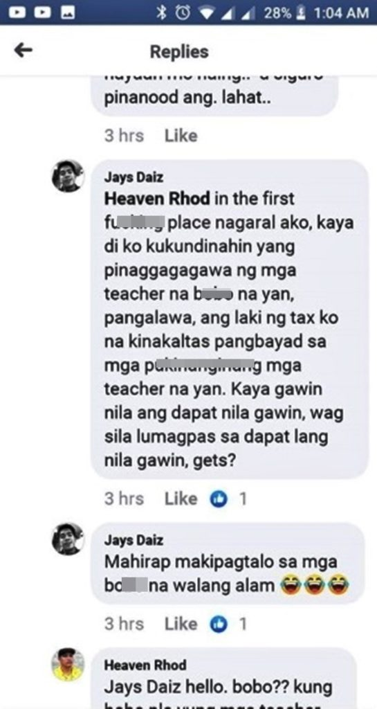 Raffy Tulfo Issue