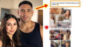 "Julia Barretto and Gerald Anderson Wear ""Couple Bracelet""?"