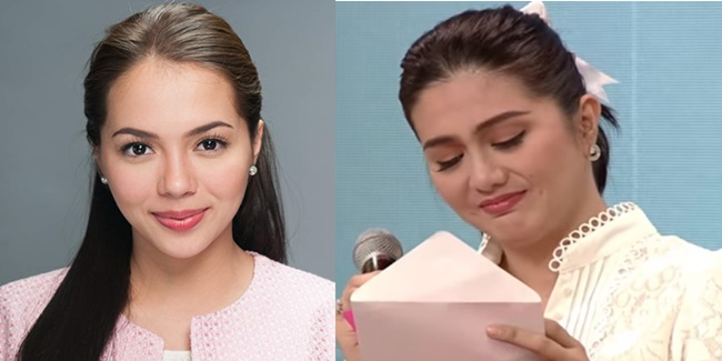 Julia Montes letter for Dimples Romana 1