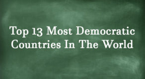 LIST: Top 13 Most Democratic Countries In The World