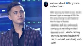 "Marlo Mortel On Loss In Tawag Ng Tanghalan: ""Not gonna lie, my heart breaks."""