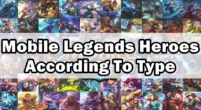 Mobile Legends Heroes According To Type (Gamer's Guide)