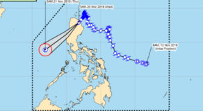 PAGASA – Sarah Becomes A Tropical Storm, Ramon Weakens Further