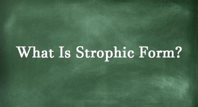 STROPHIC FORM
