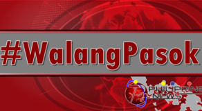 #WalangPasok: Classes Suspended in these Areas Today November 15,2019