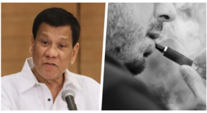 Duterte Bans Vaping In Public, Violaters To Be Arrested