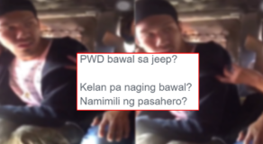Jeepney Driver Forbid PWD Passenger to Ride His Vehicle Elicits Reactions Online