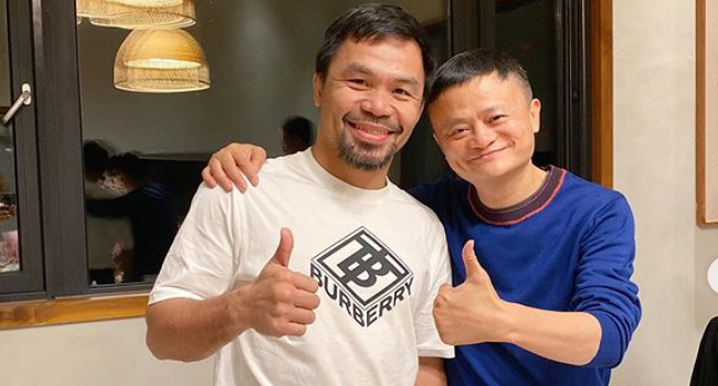 Pacquiao & Jack Ma Partner To Provide Thousands Of Jobs For Filipinos